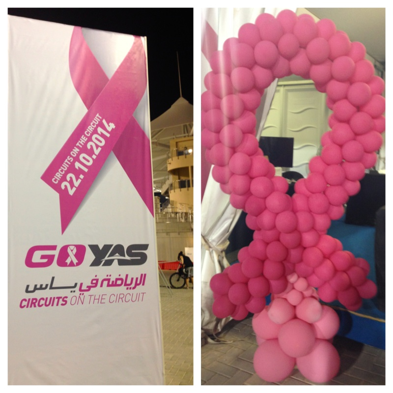 Go Yas Pink