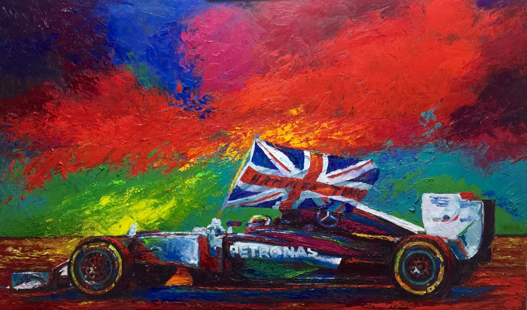 Brent Benger painting 2
