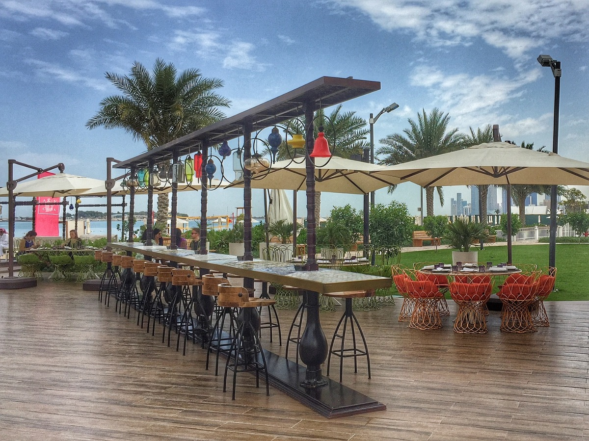 My Top Five Places for Sunset Drinks in Abu Dhabi