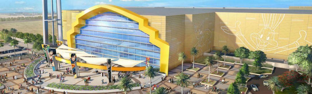 Warner Bros World Abu Dhabi entrance
